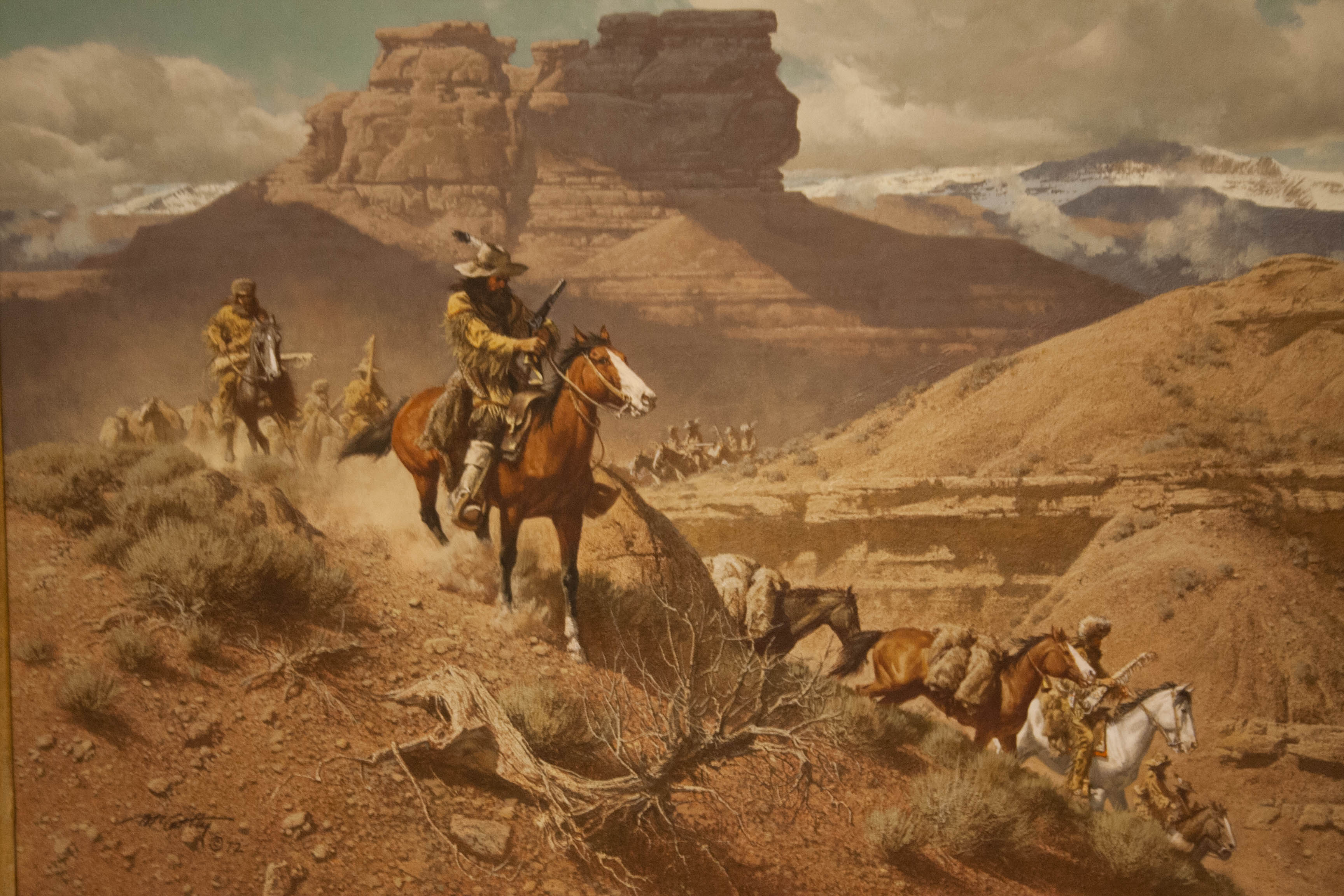 western art The sid richardson art museum, located in fort worth, features western art oil paintings by artists frederic remington & charles russell.